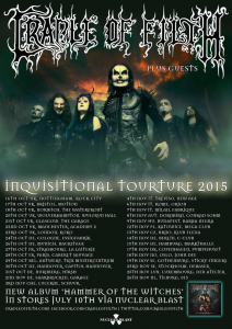Cradle of Filth @ Le Trix - Anvers, Belgique [29/10/2015]