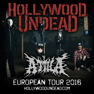 Hollywood Undead @ La Laiterie - Strasbourg, France [15/04/2016]