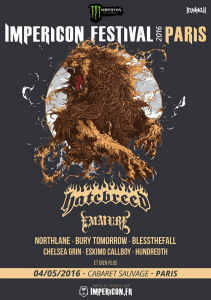 Impericon Fest 2016 @ Le Cabaret Sauvage  - Paris, France [04/05/2016]