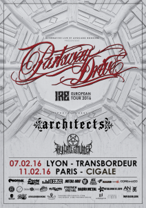 Parkway Drive @ La Cigale - Paris, France [11/02/2016]