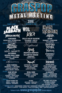 Graspop Metal Meeting 2016 @ Dessel, Belgique [19/06/2016]