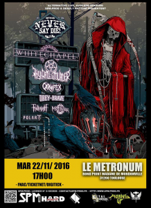 Impericon Never Say Die 2016 @ Le Metronum - Toulouse, France [22/11/2016]
