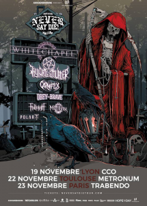 Impericon Never Say Die 2016 @ Le Trabendo - Paris, France [23/11/2016]