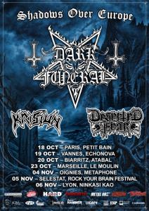 Dark Funeral @ Le Moulin - Marseille, France [23/10/2016]