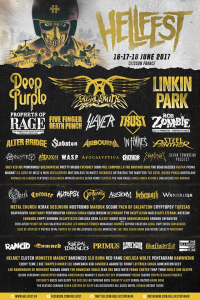 Hellfest Open Air Festival 2017 @ Clisson, France [16/06/2017]