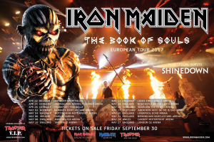 Iron Maiden @ The O2 Arena - Londres, Angleterre [27/05/2017]