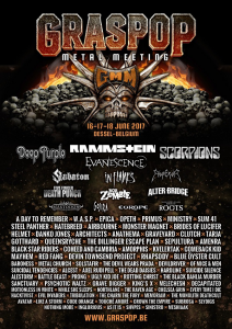 Graspop Metal Meeting 2017 @ Dessel, Belgique [18/06/2017]