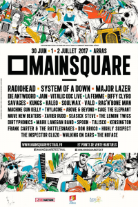 Main Square Festival 2017 @ La Citadelle - Arras, France [30/06/2017]