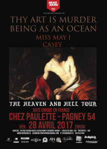 The Heaven And Hell Tour @ Chez Paulette - Pagney-derrière-Barine, France [28/04/2017]