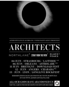Architects @ Le Chabada Club - Angers, France [12/06/2017]