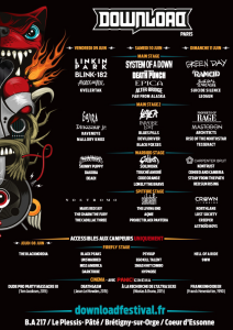 Download Festival 2017 @ Base Aérienne 217 - Brétigny-sur-Orge, France [10/06/2017]