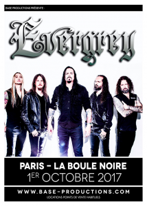 Evergrey @ La Boule Noire - Paris, France [01/10/2017]