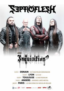 Septicflesh @ In Theatrum Denonium - Denain, France [13/01/2018]
