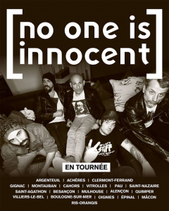 No One Is Innocent @ Le Noumatrouff - Mulhouse, France [28/04/2018]