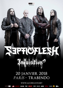 Septicflesh @ Le Trabendo - Paris, France [20/01/2018]