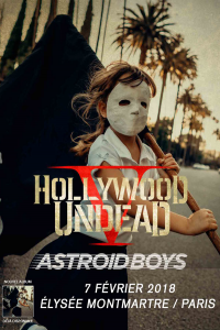 Hollywood Undead @ L'Elysée Montmartre - Paris, France [07/02/2018]
