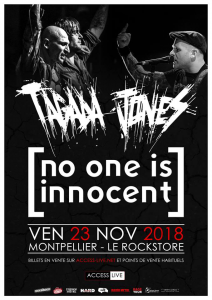 No One Is Innocent @ Le Rockstore - Montpellier, France [23/11/2018]