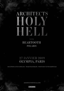 Architects @ L'Olympia - Paris, France [27/01/2019]