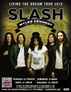 Slash feat. Myles Kennedy & The Conspirators @ Le Zénith - Toulouse, France [10/03/2019]