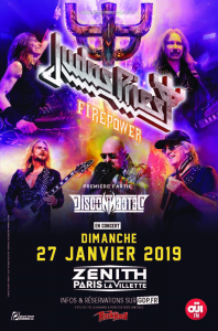 Judas Priest @ Le Zénith - Paris, France [27/01/2019]