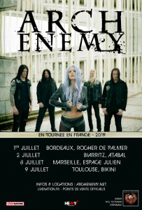 Arch Enemy @ L'Atabal - Biarritz, France [02/07/2019]