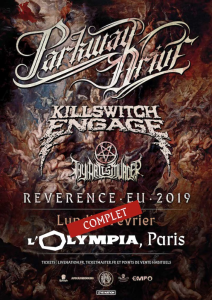 Parkway Drive @ L'Olympia - Paris, France [04/02/2019]