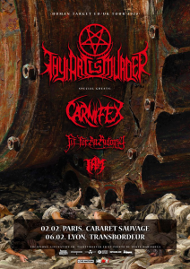 Thy Art Is Murder @ Le Cabaret Sauvage  - Paris, France [02/02/2020]