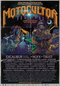Motocultor Festival Open Air 2019 @ Site de Kerboulard - Saint Nolff, Bretagne, France [17/08/2019]