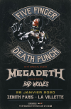 Five Finger Death Punch - 28/01/2020 19:00