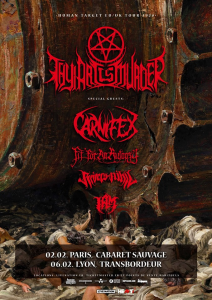 Thy Art Is Murder @ Le Transbordeur - Villeurbanne, France [06/02/2020]