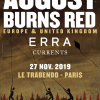 Concerts : August Burns Red