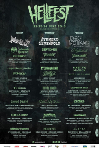 Hellfest Open Air Festival 2018 [22/06/2018]