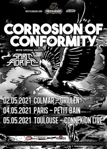 Corrosion Of Conformity @ Le Connexion Live - Toulouse, France [05/05/2021]