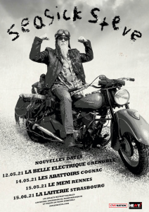 Seasick Steve @ La Belle Electrique - Grenoble, France [12/05/2021]