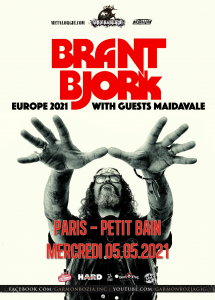 Brant Bjork @ Petit Bain - Paris, France [05/05/2021]