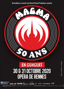 Magma @ Opéra - Rennes, France [31/10/2020]