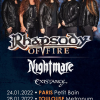 Concerts : Rhapsody Of Fire