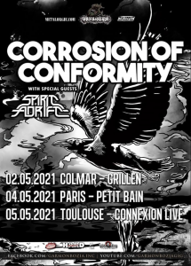 Corrosion Of Conformity @ Petit Bain - Paris, France [04/05/2021]