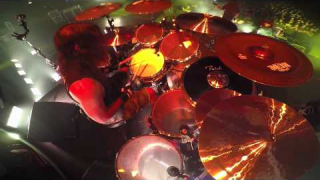 Paul Bostaph - SLAYER (GoPro Footage) @ Hammond, Indiana 2014 - Part. 2
