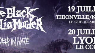 THE BLACK DAHLIA MURDER De retour en France avec DEEP IN HATE