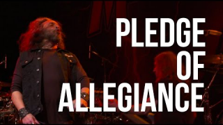 """Pledge of Allegiance"" METAL ALLEGIANCE - Live at Tribute to Fallen Heroes Concert 2017"