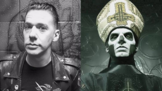 GHOST • Papa Emeritus tombe le masque