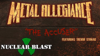"METAL ALLEGIANCE feat. Trevor Strnad • ""The Accuser"" (Audio)"