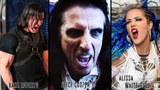 "Kane Roberts feat. Alice Cooper & Alissa White-Gluz • ""Beginning Of The End"""