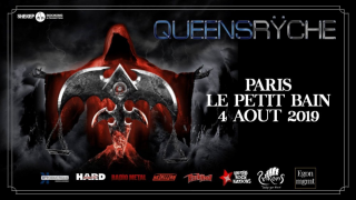 QUEENSRYCHE + MIRRORPLAIN @ Paris (Petit Bain)