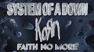 SYSTEM OF A DOWN, KORN & FAITH NO MORE • Un concert en commun à Los Angeles