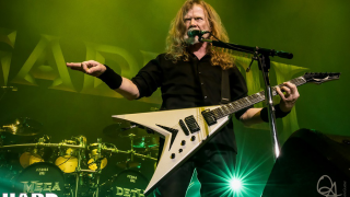 "Dave Mustaine • Un livre sur l'enregistrement de ""Rust In Peace"""