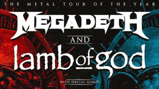MEGADETH & LAMB OF GOD • Tournée commune en Amérique du Nord