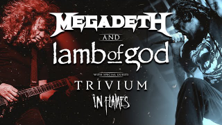 MEGADETH, LAMB OF GOD, TRIVIUM & IN FLAMES • Metal Stream Of The Year