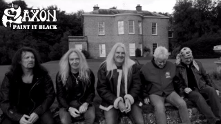 "SAXON • ""Paint It Black"" (Rolling Stones cover)"
